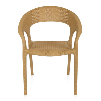 Nilkamal Club Chair (Pine Beige)