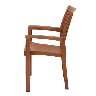 Nilkamal Platinum Chair (Season Rust Brown)