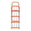 Nilkamal Proxima 4 Layer Iron Shoe Rack - Orange