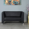 Nilkamal Reed 2 Seater Sofa (Black)