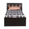 Nilkamal Reegan Single Bed (Wenge)
