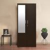 Nilkamal Reegan 2 Door Wardrobe With Mirror - Wenge
