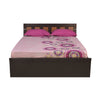 Nilkamal Reegan Queen Bed - Wenge