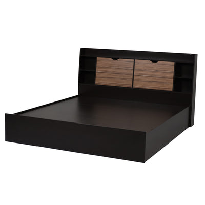 Nilkamal Riva King Bed (Wenge)