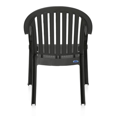 Nilkamal Royal Chair (Iron Grey)