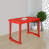 Nilkamal Shahenshah Dining Table (Bright Red)