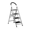 Nilkamal Stepper 4 Steps Ladder (Black/Grey)