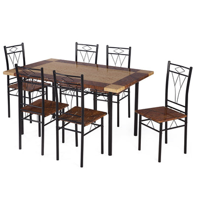 Nilkamal Stratus 6 Seater Dining Table Set