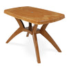 Nilkamal Shahenshah Kross Legged Table (Pear Wood)