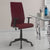 Nilkamal Thames High Back Fabric Chair (Maroon)