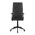Nilkamal Thames High Back Mesh Chair (Black)
