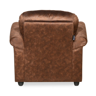 Nilkamal Tigor 1 Seater Sofa (Dark Brown)