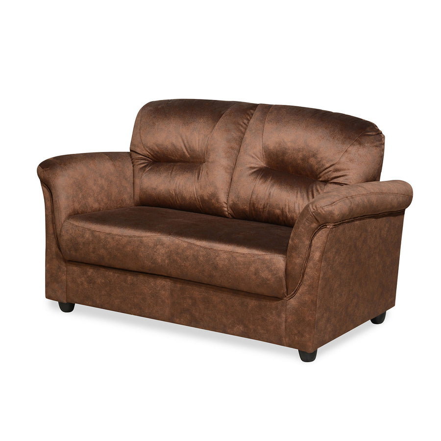 Nilkamal Tigor 2 Seater Sofa (Dark Brown)