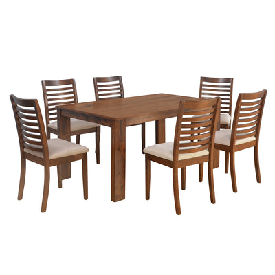 Nilkamal Togo 6 Seater Dining Set (Oak)