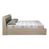 Nilkamal Toya Queen Bed (Beige/Brown)