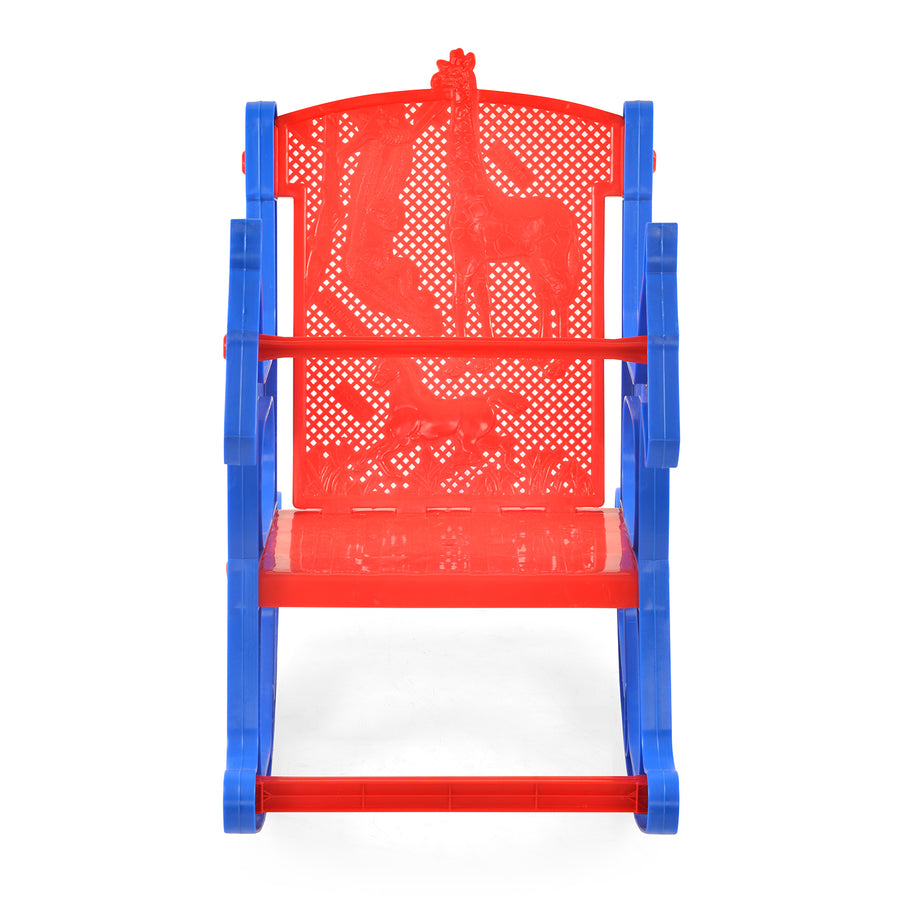 Nilkamal Toy Jungle Kids Chair - Blue/Red