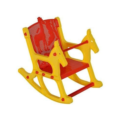 Nilkamal Toy Baby Jungle Chair (Yellow & Red)