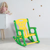 Nilkamal Toy Baby Rocker Chair (Green & Yellow)