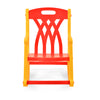 Nilkamal Toy Rocker Kids Chair, Red/Yellow
