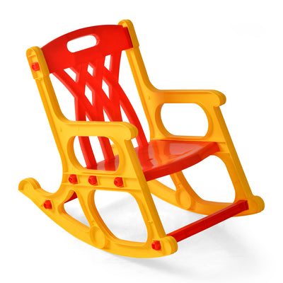 Nilkamal Toy Rocker Kids Chair - Red/Yellow