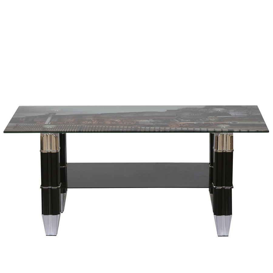 Nilkamal Valencia Center Table (Black)