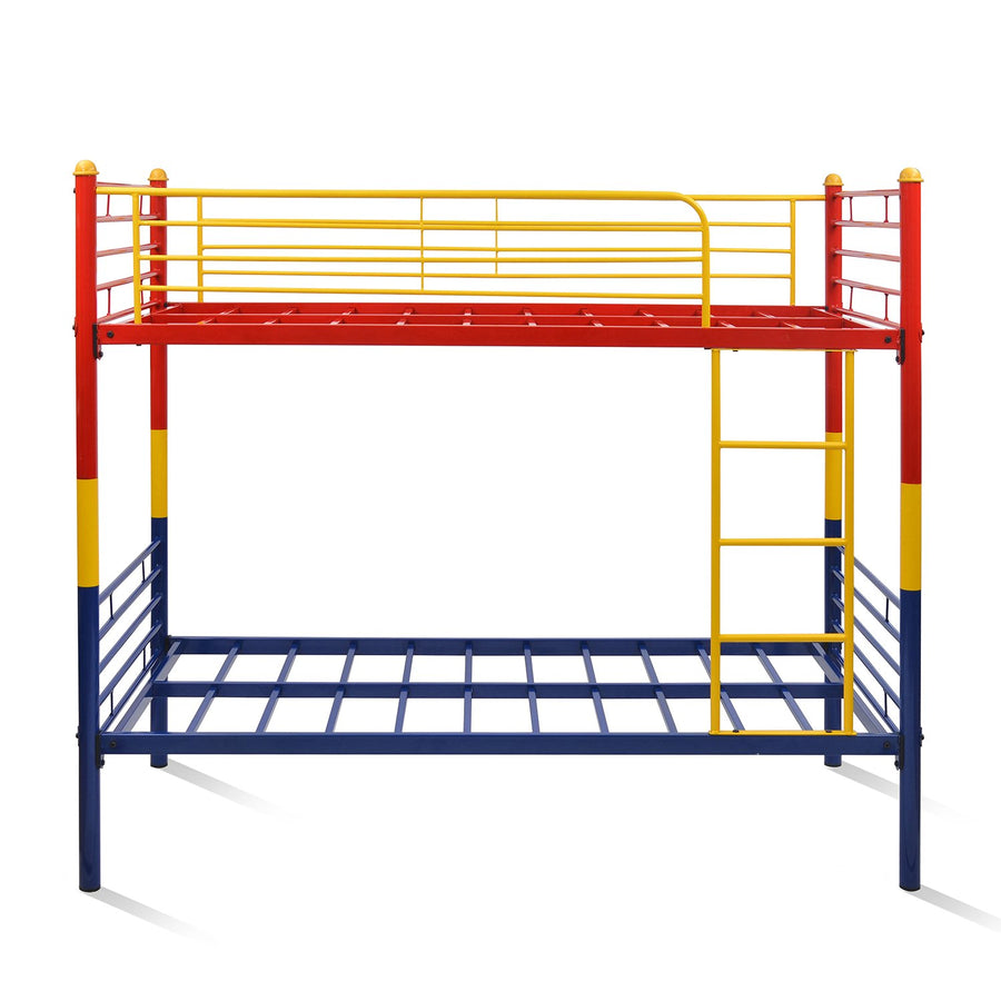 Nilkamal Venice Bunk Bed - Red/Yellow/Blue