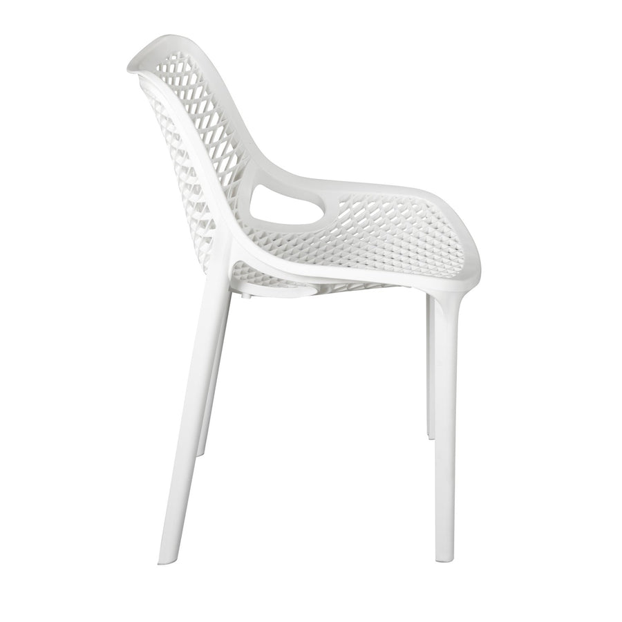 Nilkamal Vento Chair (Milky White)