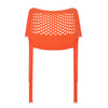 Nilkamal Vento Chair Sunset Orange