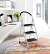 Vesta 3step Ladder Black White