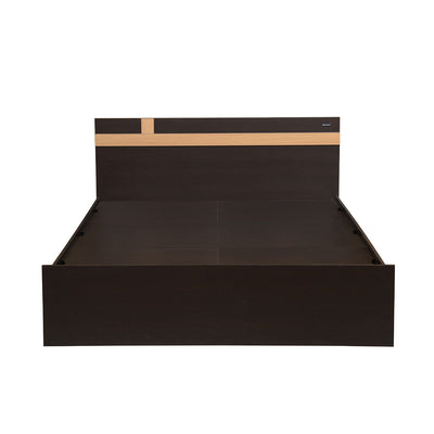 Nilkamal Vienna Queen Bed (Wenge)