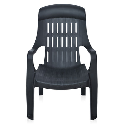 Nilkamal Weekender Chair (Iron Black)