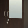 Nilkamal Willy 2 Door Mirror Wardrobe (Wenge)