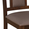 Nilkamal Woodway Dining Chair (Cappuccino)