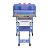 Nilkamal Woody Study Desk With Chair - Blue