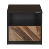 Nilkamal Yuko Bed Side Table (Wenge/Brown)