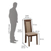 Nilkamal Zabel Dining Chair (Beech)