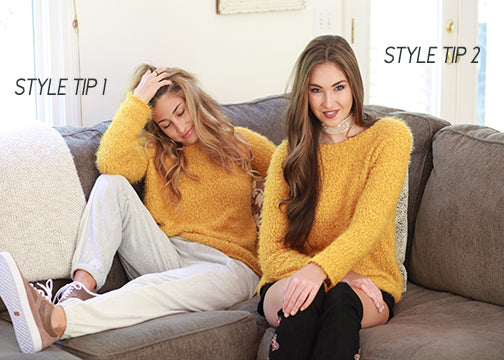 BTG Style Tip: How to Rock those Cozy Sweaters This fall!