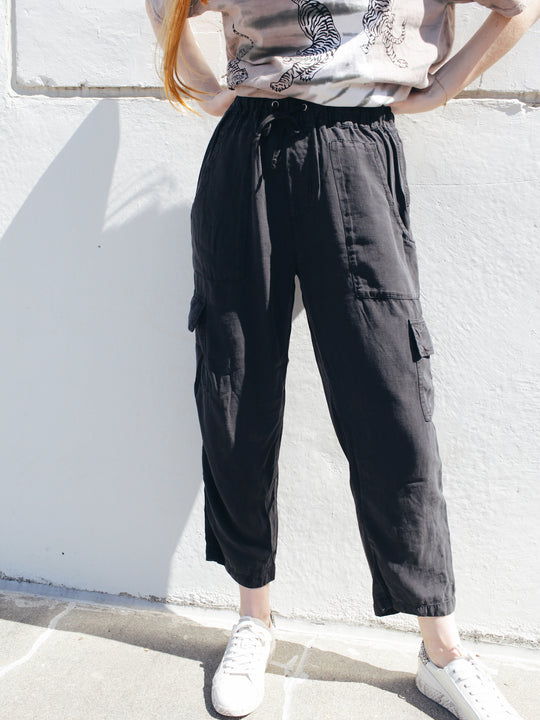 Lover Boy Cropped Cargo Pant