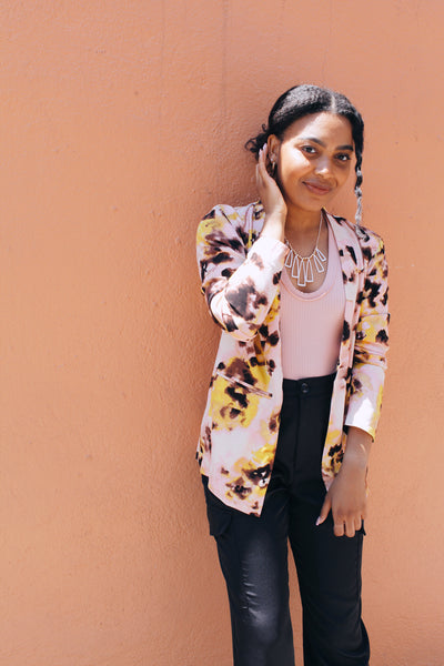 Be Bold Abstract Blazer
