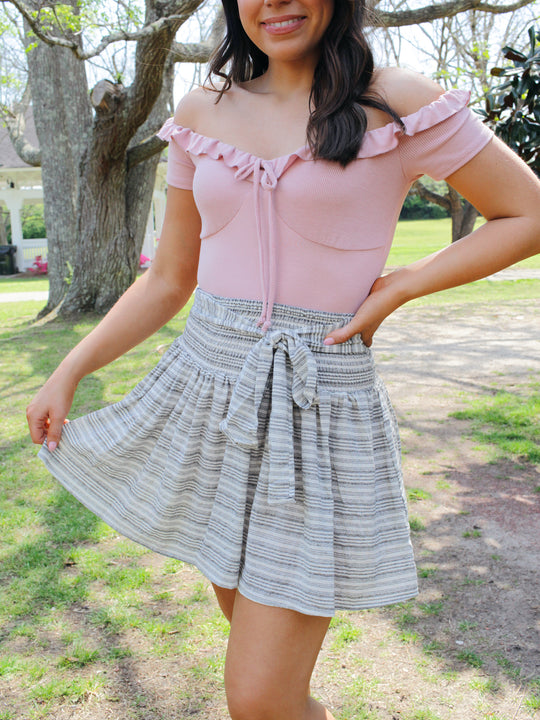 MINKPINK Tidal Mini Skirt