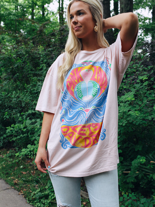 Project Social T Pink Lady Oversized Tee