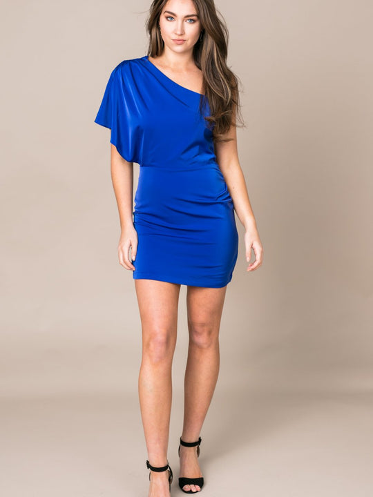 Be My Baby One Shoulder Dress