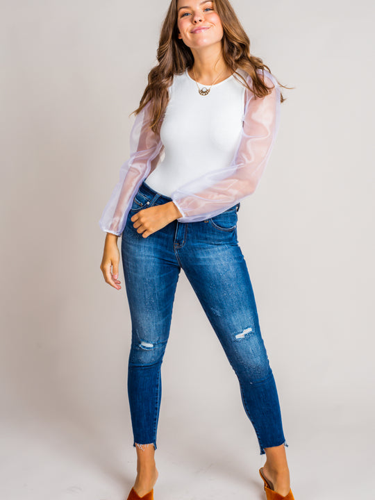 Conrad Ankle High Rise Jeans