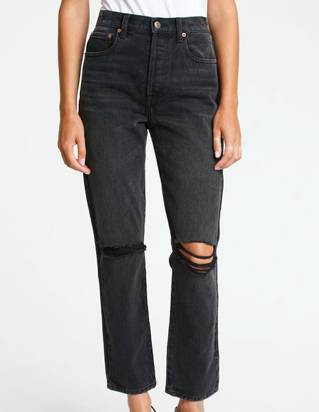 Pistola Keaton High Rise Slim Straight Jean