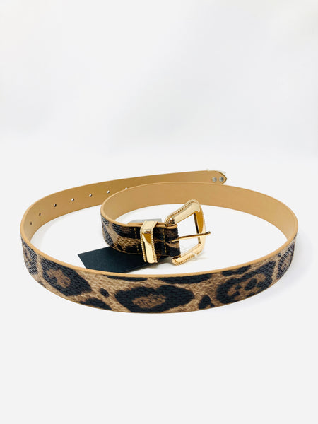 Fierce Style Leopard Belt