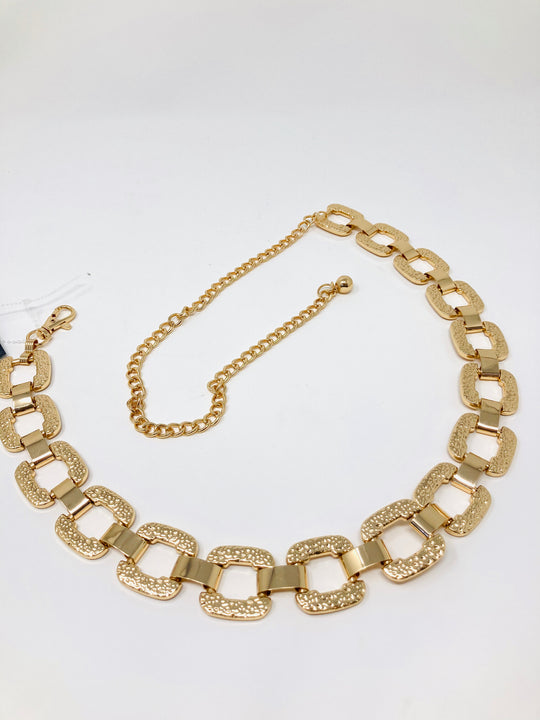 Glam It Up Chain Belt