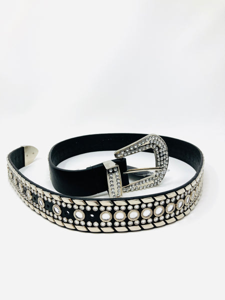 She's All That Rhinestone & Studded Belt