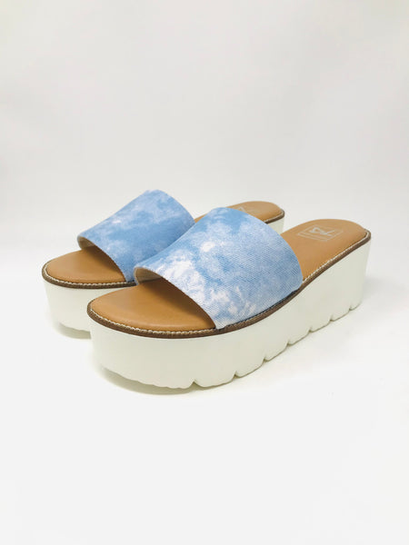 Dirty Laundry Pivot Platform Sandal