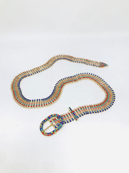 Rainbow Chain Belt
