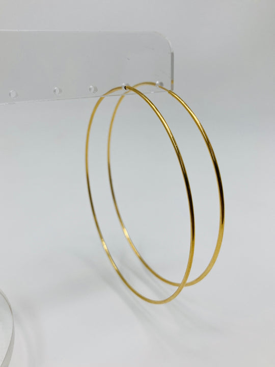 Madison Gold Hoops